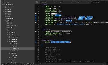 SublimeText3css插件:ColorHighlight