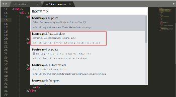 sublimeText3下安装bootstrap插件