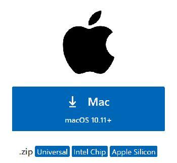 苹果Mac用户下载VS Code(Universal、Intel Chip、Apple Silicon)哪个版本?