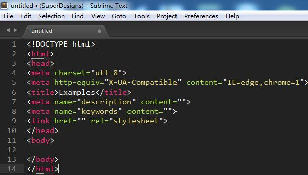 SublimeText3快速生成文件模板插件:SublimeTmpl